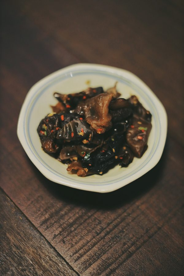 Spicy Black Fungus Salad